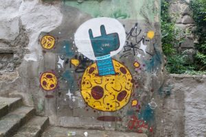street art, giraffe, creative commons
