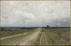"""The Vladimirka"" by Isaac Levitan, 1892"
