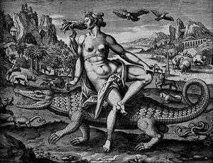 Engraving by A.-Collaert c.1600 Creative Commons Attribution 4. International Wellcome.