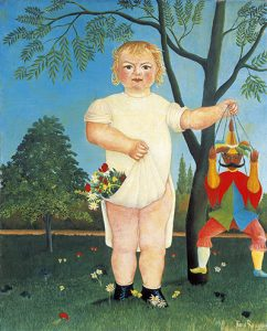 In Celebration Of The Child by Henri Rousseau. 1903